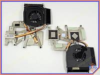 Вентилятор для ноутбука HP Pavilion DV6-1000 DV6-1100 DV6-1200 DV6-2000 DV6-2100 DV6-2200 (для AMD с радиатором). Система охлаждения в сборе!