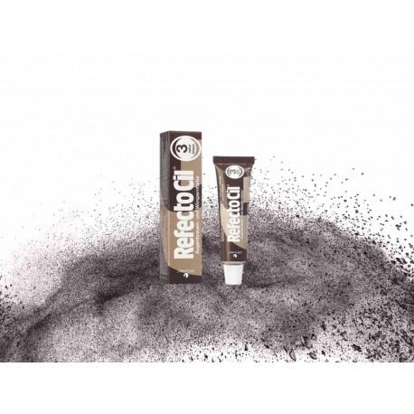 Краска для бровей и ресниц RefectoCil №3, naturalbrown (натурально-коричневая)