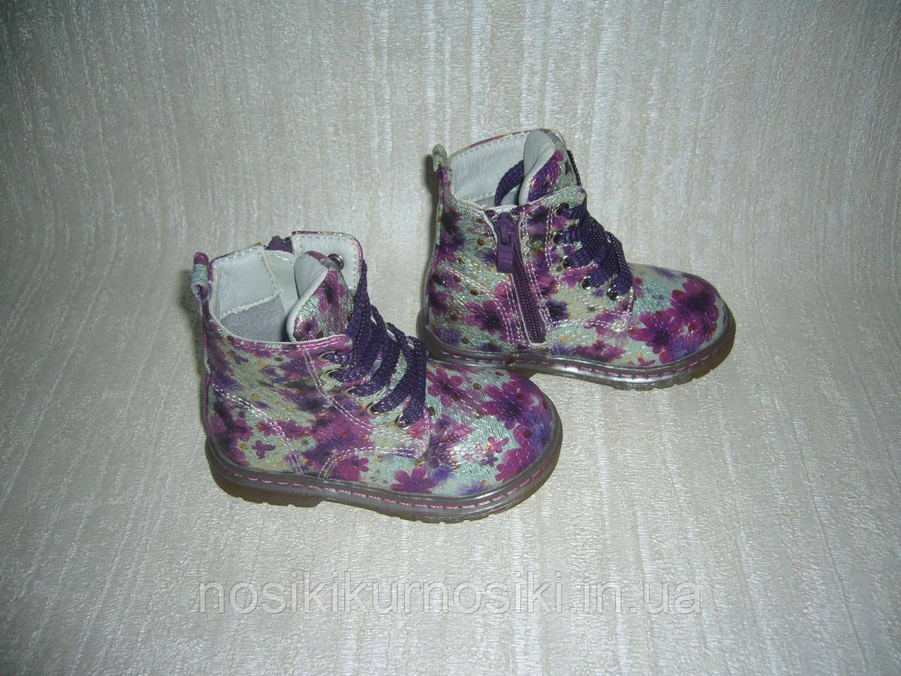 Демисезонные ботинки для девочек Maiqi (Румыния) размер 27