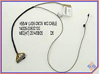 Шлейф матрицы ноутбука Asus K56C LED 40pin LCD CABLE с микрофоном (14005-00600100)