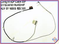 Шлейф матрицы ноутбука HP Pavilion 14-AF 14-AC 240 G4 Series 6017B0587401 LCD Cable