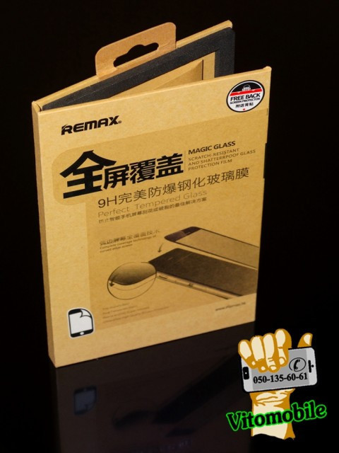 Защитное стекло оригинальное Xiaomi Redmi Note 4 Gold 2,5D / закруглен