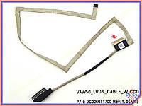 Шлейф матрицы ноутбука DELL Latitude E5540 VAW50 LCD CABLE CN-TYXW6 DC02001T700