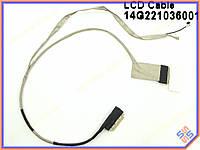 Шлейф матрицы ноутбука Asus K53E, X53S, K53SC LED 40pin LCD CABLE 14G221036000 14G221036001