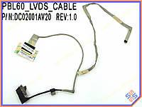 Шлейф матрицы ноутбука Asus K53U X53U A53U K53T X53B K53TK  LED 40pin LCD CABLE DC02001AV20