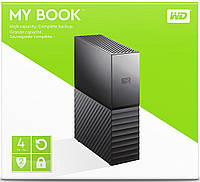 Внешний HDD Western Digital My Book 4TB (WDBBGB0040HBK)