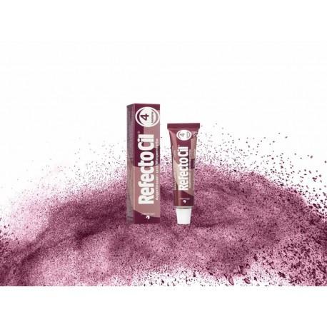 Краска для бровей и ресниц RefectoCil  №4, chestnut (каштановая)
