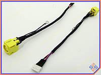 Разъем питания ноутбука Lenovo ThinkPad SL300 SL400 SL500 с кабелем! (PJ426) (7.8*5.5 + Central pin)