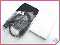 """Карман внешний USB3.0 для HDD 2.5"""" SATA 9.5mm Алюминиевый BET-219U3 Silver. Поддержка дисков до 3Tb. В комплекте чехол, кабель USB3.0"""