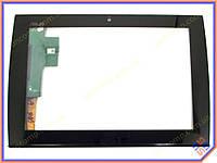 """Сенсорное стекло (тачскрин) для ноутбука ASUS Eee Pad Slider SL101 10.1"""" Black"""