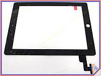 """Сенсорное стекло (тачскрин) для планшета Apple IPAD 2  9.7"""" Black ORIGINAL"""
