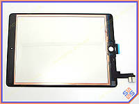 "Сенсорное стекло (тачскрин) для планшета Apple IPAD 6 Air2  9.7"" Black ORIGINAL (without home button and adhesive)"