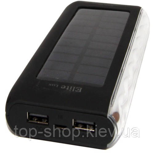 Солнечное зарядное устройство Power Bank  Elite lux EL-A802 LI-po 40000 mah - Интернет - магазин  ТОПовых товаров в Киеве