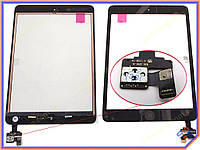 "Сенсорное стекло (тачскрин) для планшета Apple iPad Mini, 7.9"" Black ORIGINAL (with IC Flex Connector, Home Button and Home Flex)"