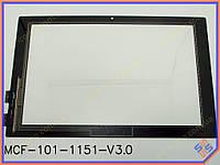 """Сенсорное стекло (тачскрин) для планшета Lenovo MIIX 10 10.1"""" Black ORIGINAL"""