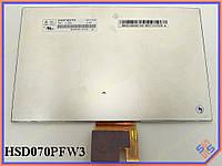"""Матрица для планшета  7.0"""" HSD070PFW3-D00 (1024*600, 31pin, LED, NORMAL,  Матрица для планшета Asus ME172"""