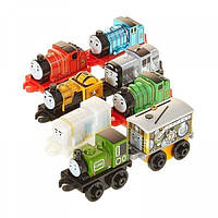 Fisher Price Томас и Друзья набор 8 штук мини паровозиков Thomas & Friends Minis Pack of 8