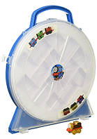 Fisher-Price Паровозик Томас мини кейс коллекционный Thomas & Friends Minis Collector's Playwheel Train
