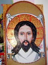 Иконы из мозаики на заказ