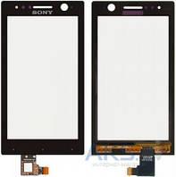Сенсор (тачскрин) для Sony Xperia U ST25i Black