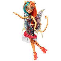 Кукла Монстр Хай кошка Торалей, кошка Тореляй с крыльями,серия Садовые монстры Monster High Garden Ghouls Wing
