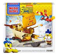 Спанч( Губка) Боб Мега Блокс Бургермобиль конструктор Mega Bloks SpongeBob