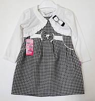 Платье с болеро для девочки (2-5 лет)