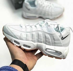 Женские кроссовки в стиле Nike Air Max 95 QS White