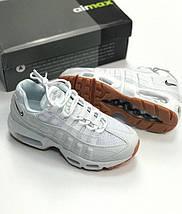 Женские кроссовки Nike Air Max 95 QS White, фото 2