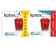 Прокладки гигиенические Kotex Ultra Night Duo 14шт/уп