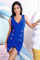 Откровенное платье-жилетка - 16592[S]
