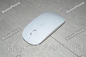 Беспроводная мышь, мышка белого цвета