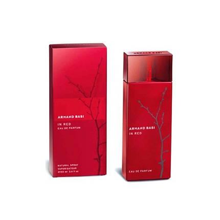 Armand Basi In Red Eau de Parfume парфюмированная вода 100 ml. (Арманд Баси Ин Ред Еау де Парфюм), фото 2