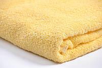 Полотенце махровое желтое Пакистан 100х150