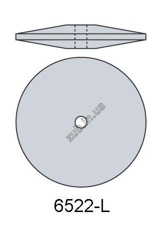 Полир для керамики Kenda 6522 L без держателя серый