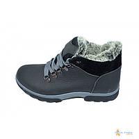 Ботинки зимние на меху подростковые Eggo Montagna K2 Black