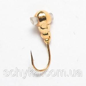 Блешня вольфрамова Salmo Личинка з отвором і кембриком Ø4.0мм 8247K050