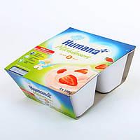 Продукт кисломолочный с клубникой и пребиотиками, 400 г. 701152 ТМ: Humana