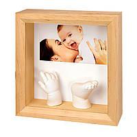 Рамочка со слепками и фото (дерево) 34120081 ТМ: Baby Art