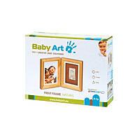 Рамка двойная с оттиском (дерево) 34120068 ТМ: Baby Art
