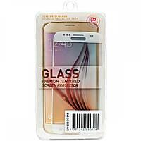 Защитное стекло 3D PowerPlant для Samsung S7 White