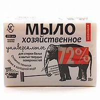 Мыло хозяйственное Универсальное «72%», 180 г 11143/10524 ТМ: Новый жемчуг