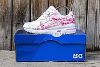Женские повседневные кроссовки ASICS Gel Lyte III sakura розовые кожа
