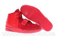 Мужские кроссовки Nike Air Yeezy 2 красные