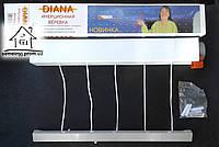 Инерционная сушилка для белья Диана настенная на балкон