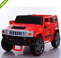 Детский  электромобиль джип Hummer M 3581EBR-3 красный ***