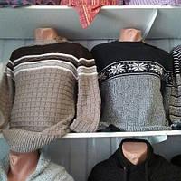 Свитера мужские теплые на зиму Турция.