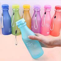 Бутылка для воды (500мл) пластик