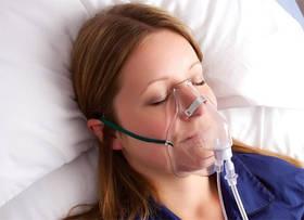 Маска кислородная для взрослых стерильная