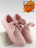 02-20 Розовые женские кеды JX49 36